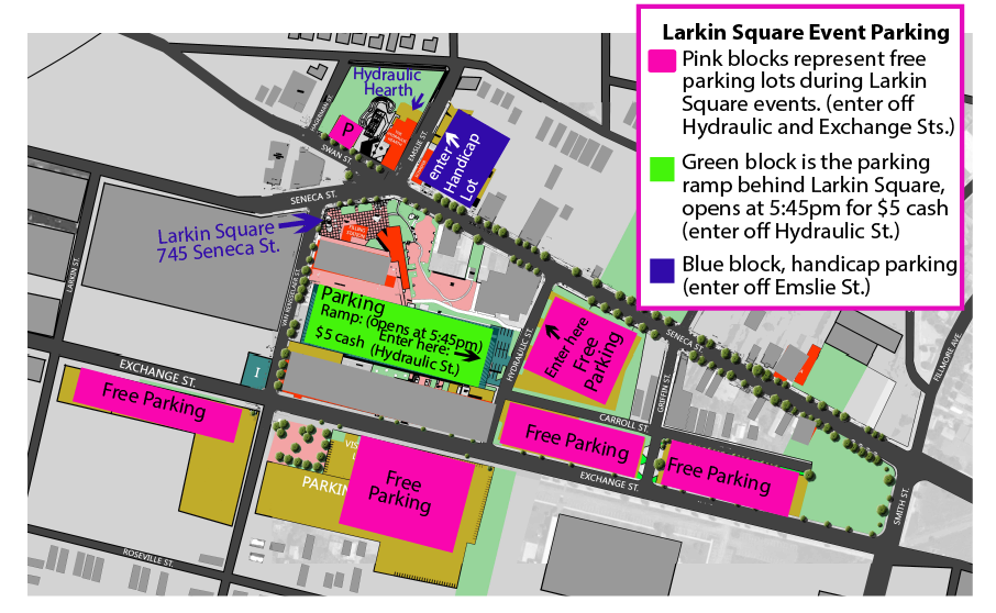 larkin square event parking 2016-01