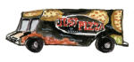 Just Pizza truck