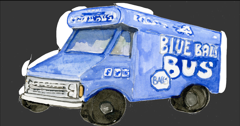 blue balls food truck