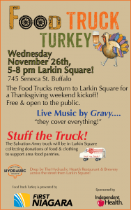 Food Truck Turkey Poster