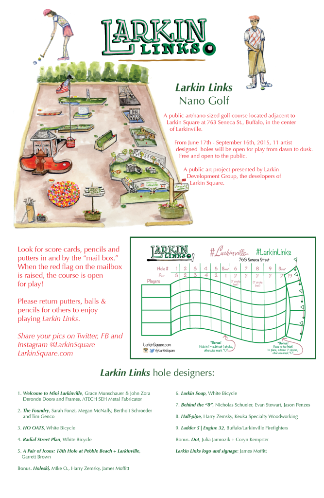 Larkin Links Poster-01