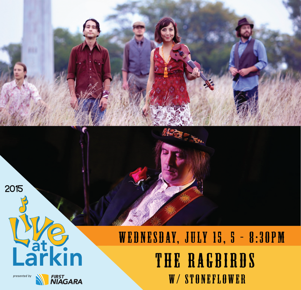 Live at Larkin Ragbirds-Stoneflower 7-15-15