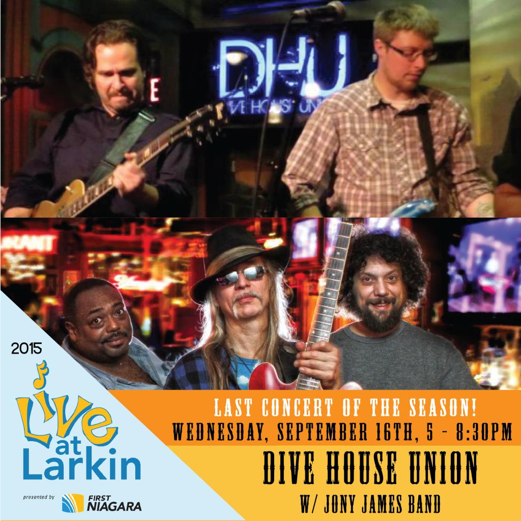 Larkin season finale     Dive House Union   Jony James Band    Larkin
