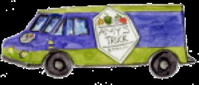 Amy's Truck Illustration