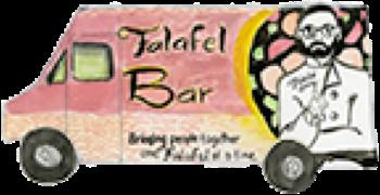 Falafel Bar Illustration