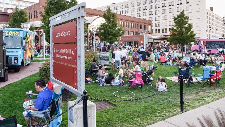 larkin square event