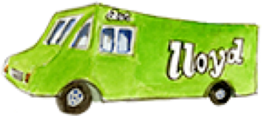Llyod Taco Truck Illustration